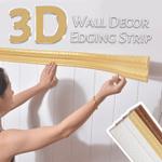 3D Wall Decor Edging Strip