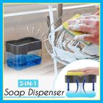 2-in-1 Soap Dispenser