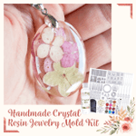 Handmade Crystal Resin Jewelry Mold Kit (83pcs)
