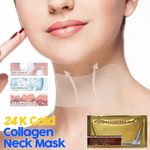 24K Gold Collagen Neck Mask