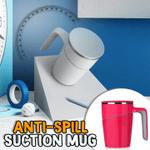 Anti-Spill Suction Mug