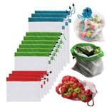 Waste Free Reusable Produce Bags(12PCS)