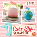 Cake Style Scrapers