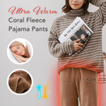 Ultra Warm Coral fleece Pajama Pants