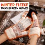 Winter Fleece Touchscreen Gloves