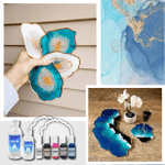 DIY Crystal Resin Coaster Kit