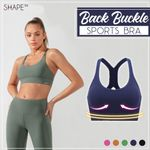 Back Buckle Sports Bra