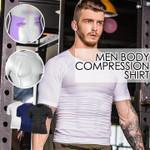 Men Body Sculpting Compression Shirt