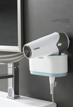 Wall-Mounted Hair Dryer Holder
