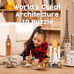 World's Great Architecture 3D Puzzle