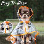 Clip-On Pets Raincoat