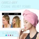 Quick-Dry Coral Velvet Towel