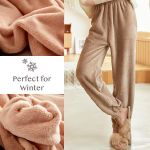 Ultra-Warm Coral Fleece Winter Pajama Pant