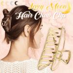 Lazy Moon Hair Claw Clip