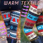 Winter Knitted Nordic Leggings