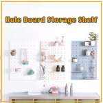Hole Board Storage Shelf