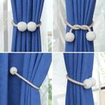 Magnetic Curtain Tieback (2PCS)