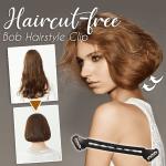 Haircut-free Bob Hairstyle Clip