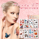 Waterproof 3D Tattoo Stickers (20PCS)