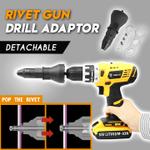 Rivet Gun Drill Adaptor