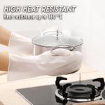 Heat-Resistant Silicone Dish Scrubber