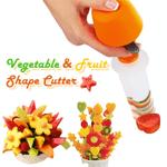 Vegetable & Fruit Shape Pop Cutter - Clevativity