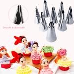 Pastry Decorating Nozzles Set (10PCS)