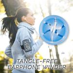 Tangle-Free Earphones Winder