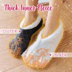 Thick Fleece Lined Thermal Slipper Socks
