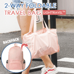 LightTravel™ 2-way Foldable Travel Bag