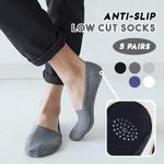 Anti-Slip Low Cut Socks (Set of 5 Pairs)