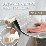 Self-Adhesive Rod Hanger (4 PCS)
