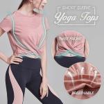 Yoga Tops Short Sleeve