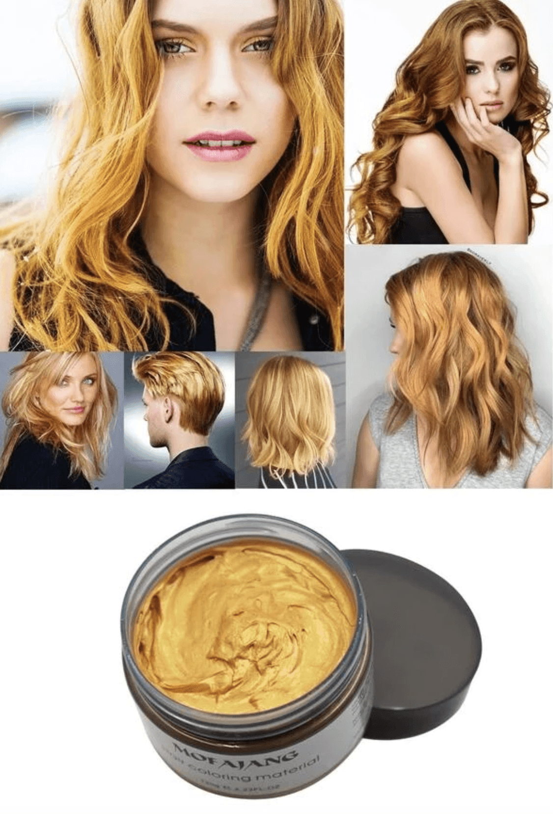 Fashion Colorful Hair Wax