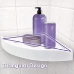 Triangular Bathroom Drainer