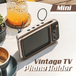 Mini Vintage TV Phone Holder