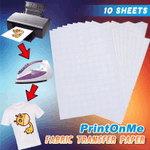 PrintOnMe Fabric Transfer Paper (10 PCS)