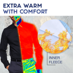 Lightweight Extra Warm Mens Fleece Shirt