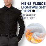 Lightweight Extra Warm Mens Fleece Shirt