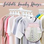 Foldable Laundry Hangers