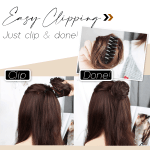 Messy Bun Easy Clip