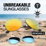 Unbreakable Elastic Temples Sunglasses