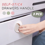 Self-Stick Drawer Handle (3 PCS)