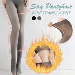 Sexy Women Fake Translucent Pantyhose