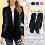 Open Front Cardigan