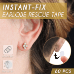 Instant-Fix Earlobe Rescue Tape (60 PCS)