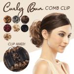 Curly Bun Comb Clip