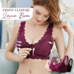 Front Closure Lace Bra