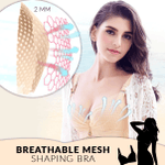 Breathable Mesh Shaping Bra
