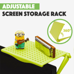 Adjustable Screen Storage Rack